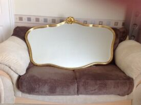 Mantle mirror approx 801x1204 in good condition