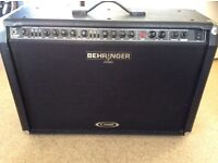 BEHRINGER AMP AS NEW AS THE DAY I GOT IT FULLY WORKING