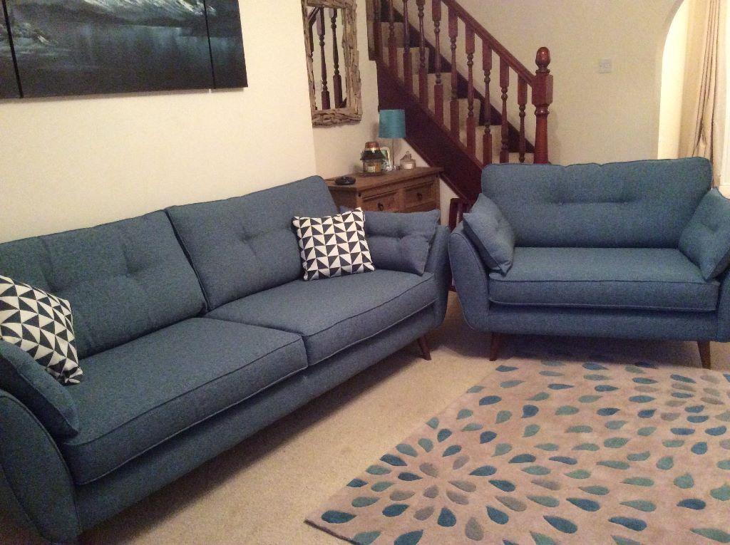 only 2 months old french connection zinc dfs cuddler 4. Black Bedroom Furniture Sets. Home Design Ideas