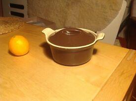 Small vintage Le Creuset casserole