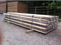 Packs Of Air Dried Sawn English Ash Timber Squares (various lengths and sizes)
