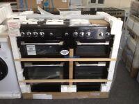 Leisure cuisinemaster 110cm range. Black . £850 RRP £1280. New/graded 12 month Gtee