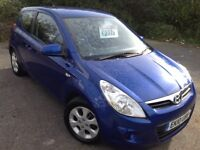2010 HYUNDAI I20 1.2 COMFORT - MOT MARCH 2018, HPI CLEAR, DRIVES SUPERB, 6 MONTHS WARRANTY INCLUDED.