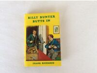BILLY BUNTER BUTTS IN - HARDBACK BOOK