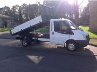 2010 10 rege ford transit tipper no vat !!!