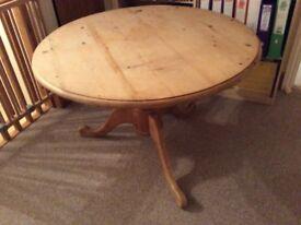 Shabby chic retro dining table