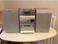 Sony cd tape and tuner deck.