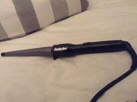 Hair curling wand
