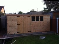 16x8 work shop/ shed.t&g