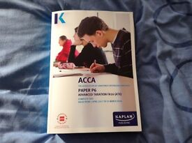 ACCA P6 Advanced Tax FA16 (ATX) Complete Study Text