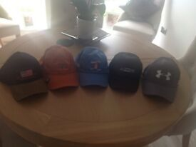 Baseball hats all brand new