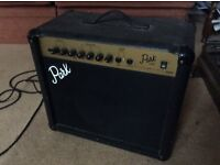 2 channel guitar amp by Marshall , clean and not clean channels' footswitch and headphone socket £30
