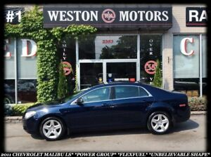 2011 Chevrolet Malibu LS*POWER GROUP*FLEX FUEL*UNBELIEVABLE SHAP