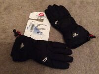 Women's Mountain Glove, size x-small, Black, made by Mountain Equipment