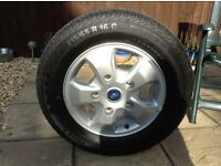 Ford Transit/Custom Gnuine Alloy Wheel & Continental Tyre (1). 🚐🚐 IMMACULATE