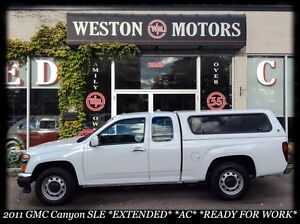 2011 GMC Canyon SLE* EXT CAB* A/C* READY FOR WORK!!