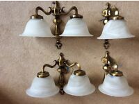 Wall lights - Immaculate condition