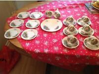 Vintage fine bone china tea set