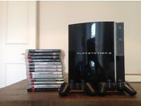 PS3 and 13 games!