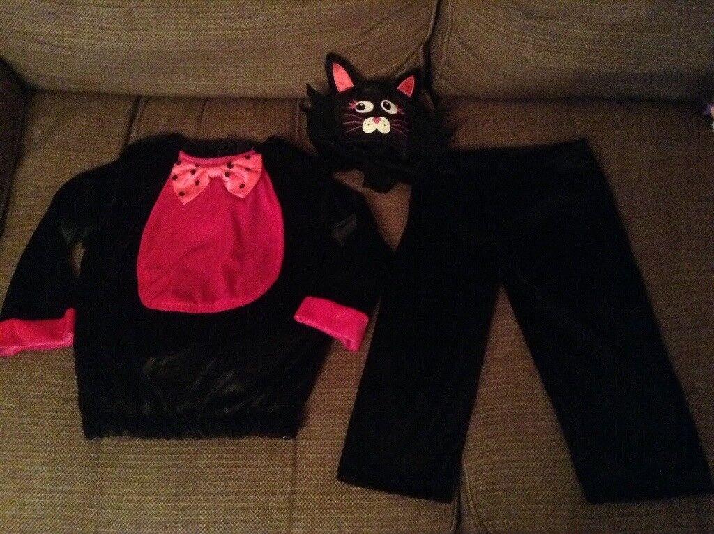 Cat Halloween costume age 1-2