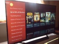 LG 49-Inch 49UF770V SMART 4K ULTRA HD LED TV, Built-in Wifi,Freeview HD,Netflix, Excellent condition