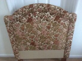 Headboard for Single Bed -Beautifully Upholstered In High Quality Fabric