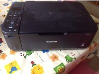 Broken printer containing new ink cartridges which I am unable to get at!
