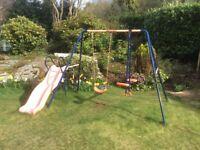 Garden Swing & Slide & seasaw