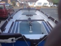 Sailing dinghy magnum class 16 ft over all beam 5ft 3 ins