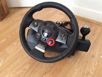 Logitech Wheel and Pedal Set for Playstation