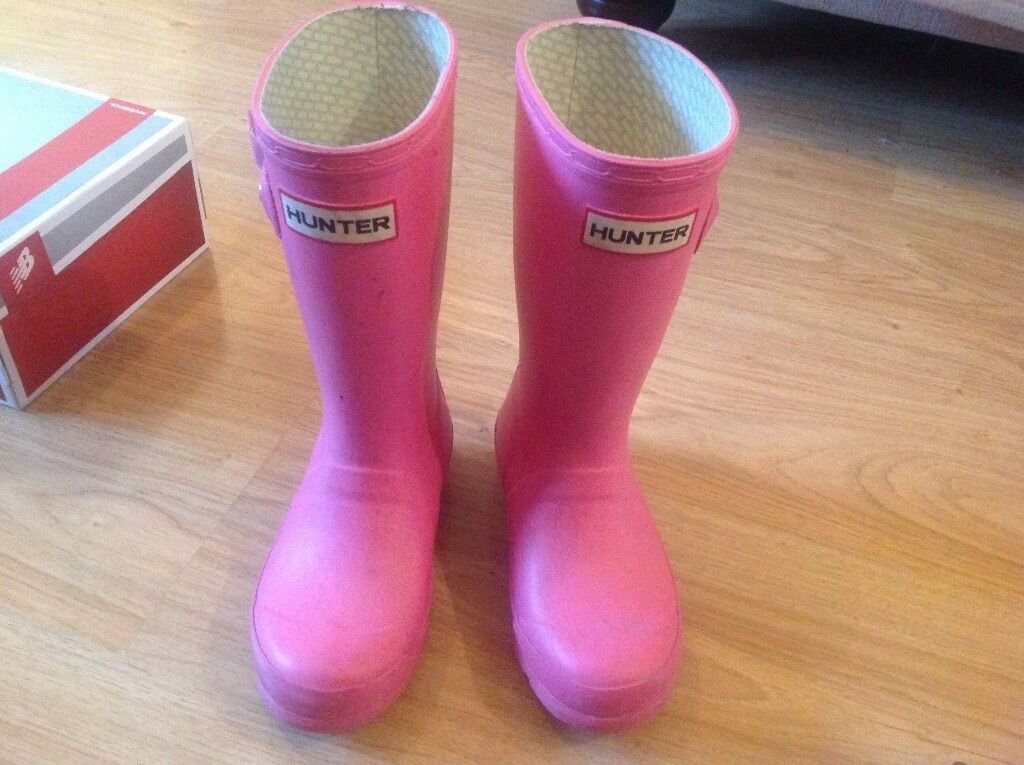 Hunter welly boots size 11