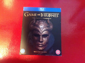 Blu-Ray Box Set...Game of Thrones...Seasons 1 - 5
