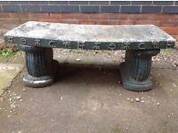 Garden bench - Japanese style