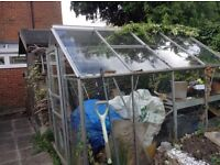 Greenhouse 8ft x 6ft for collection £5