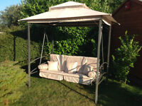 Regency Gazebo 3 Seater Swing Seat / Bed with Winter Cover