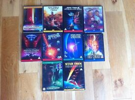 Star Trek Movies; the first 10 films on DVD for sale