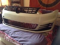 VW CADDY FRONT SPOILER R32 Style fits vw caddy