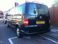 Wv Transporter T5 air con , 6 speed box, 9seats