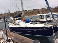 COLVIC UFO 31 , 31 foot sailing yacht, immaculate condition
