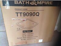 Shower tray quadrant 900x900mm