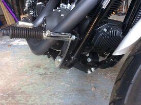 Harley Davidson forward mounted footrests