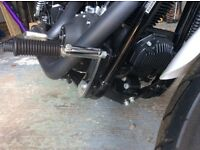 Harley Davidson forward mounted footrests