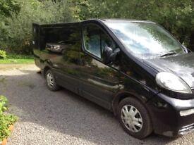 Vivaro Van 1.9TD SWB, fitted as WAV 5 Seater years MOT