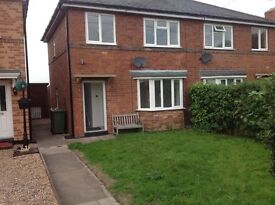 Newly refurbished 3 bed semi now available Honiley; Meer End Rd CV8 1PW (4 miles Kenilworth)