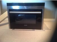 Siemens integrated microwave oven