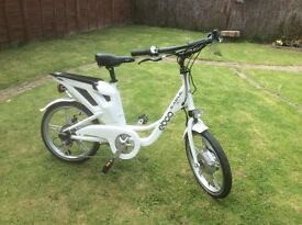 EBCO LSL50 electric bike. As new, unused, with receipt, charger, keys, manual