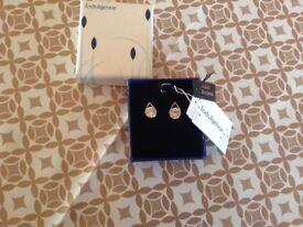 Cubic Zirconia Teardrop Earrings