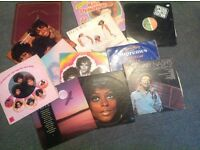 Job lot of vintage mainly Motown vinyls (supremes, Ross, etc.)