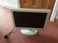 19 inch White Samsung tv