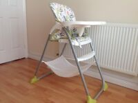 mmaculate joie mimsy highchair